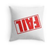Fail Mug. Throw Pillow