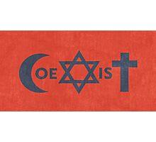 Coexistence Photographic Print