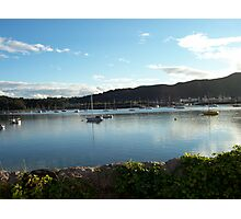View from Deganwy Station Photographic Print