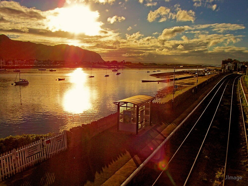 Towards Sunset from Deganwy by JImage