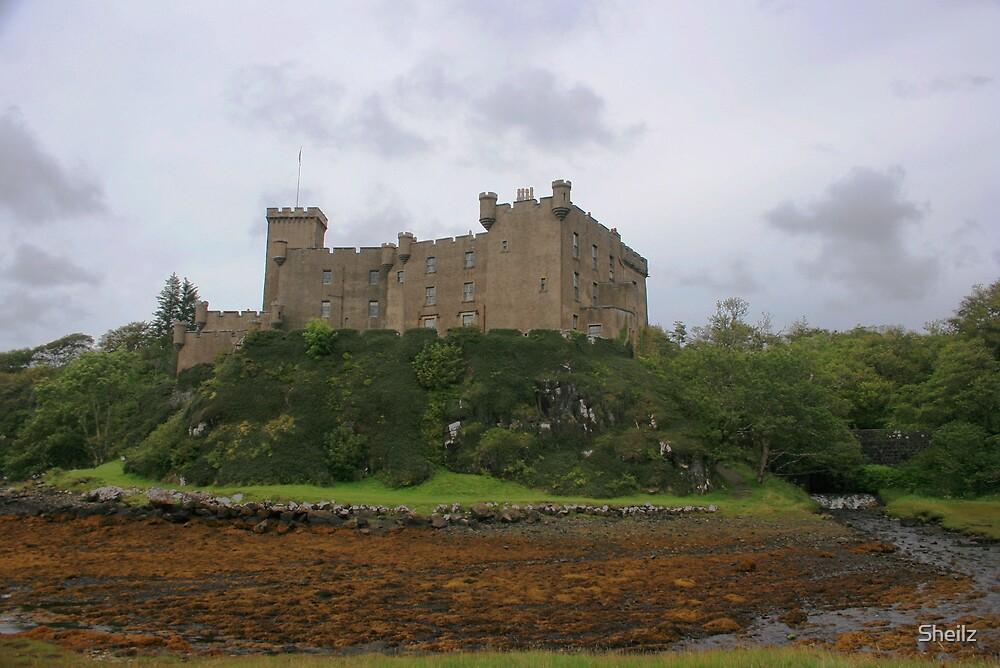 Dunvegan Castle, Skye  by Sheilz