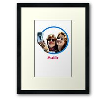 Thelma and Louise selfie - Susan Sarandon & Geena Davis Framed Print