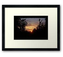 Beauty Surrounds Us Framed Print