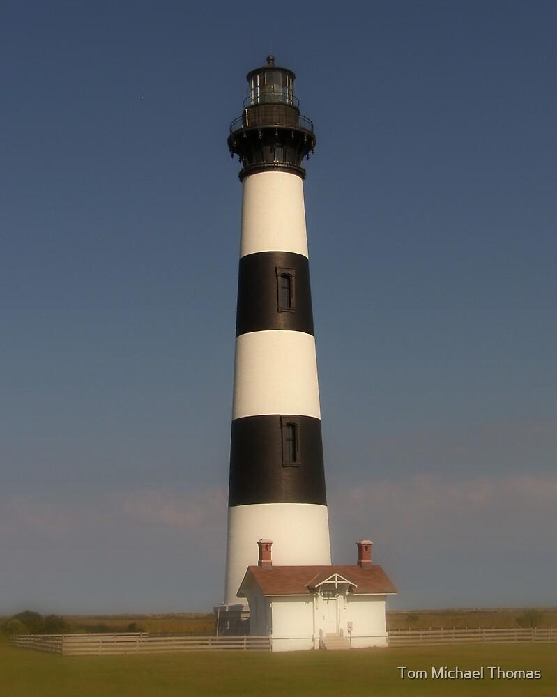 Bodie Lighthouse, North Carolina by Tom Michael Thomas