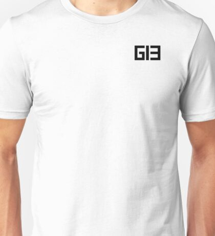 genie13 Logo Black Unisex T-Shirt