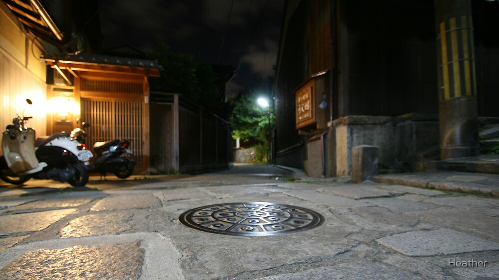 manhole of Japan by Heather