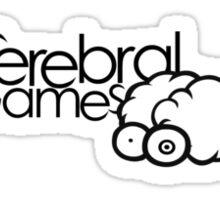 CerebralGames #1 Sticker