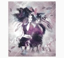 Girl with ravens manipulation 3 Kids Clothes
