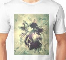 Girl with ravens manipulation 4 Unisex T-Shirt