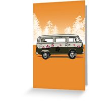 VW combi Greeting Card