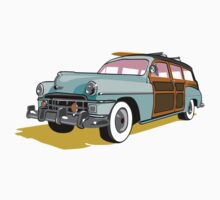 Woodie Surf Car by Lara Allport