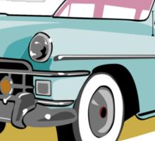 Woodie Surf Car Sticker