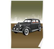 Chrysler gangster car Poster
