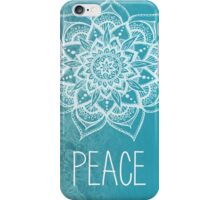 Peace Mandala iPhone Case/Skin