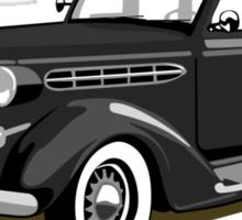 Chrysler gangster car Sticker