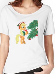 XMAS PONY Women's Relaxed Fit T-Shirt