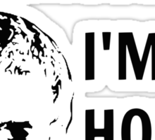 I'm not a Princess... I'M HODOR! Sticker