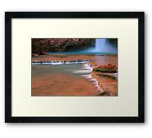 Mooney Falls Framed Print