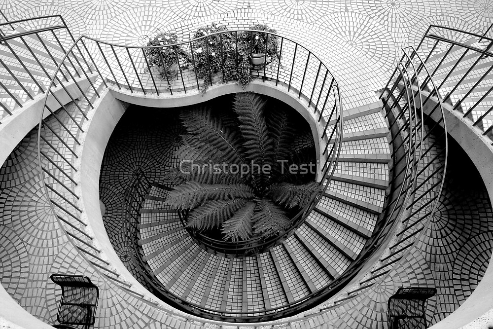 Staircases by Christophe Testi