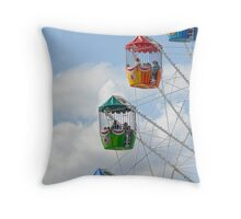 Rooms with a view Throw Pillow