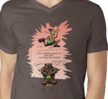 Evolution Series: The Running Shoe 1 Mens V-Neck T-Shirt