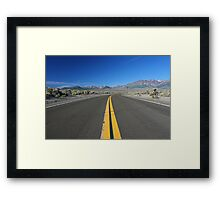 Scenic Road Framed Print