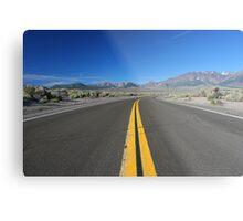 Scenic Road Metal Print