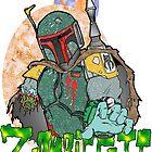 Boba Fett Zombie by Skree