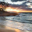 Honeymoon Bay Sunset by Stephanie Johnson