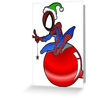 Santa Spidey Greeting Card