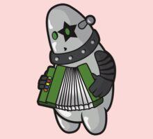 BubbleRock - Piano Accordion Hero One Piece - Long Sleeve