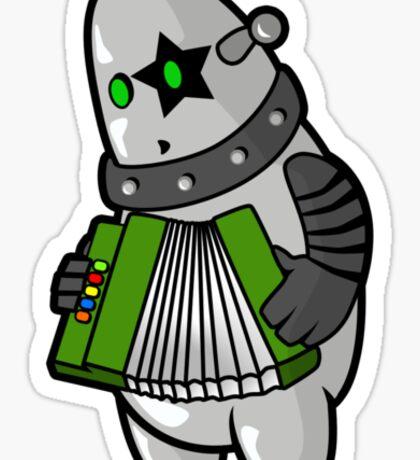 BubbleRock - Piano Accordion Hero Sticker