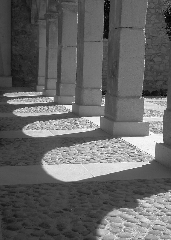 Cloisters Sanctuario Caravaca de la Cruz Murcia by Johninmula