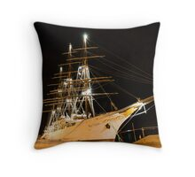 Dreaming of Mediterranean Cruises Throw Pillow