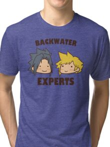 Backwater Experts! Tri-blend T-Shirt