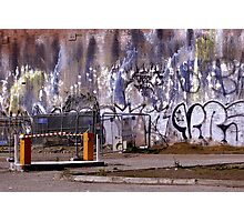 The Wall - Brunswick Street Photographic Print