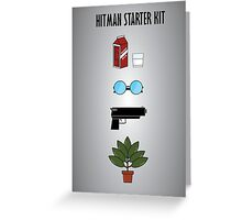 Hitman Starter Kit Greeting Card