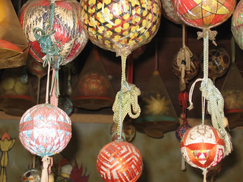 Temari Balls 4 - Ishiteji temple Matsuyama Ehime  by Trishy