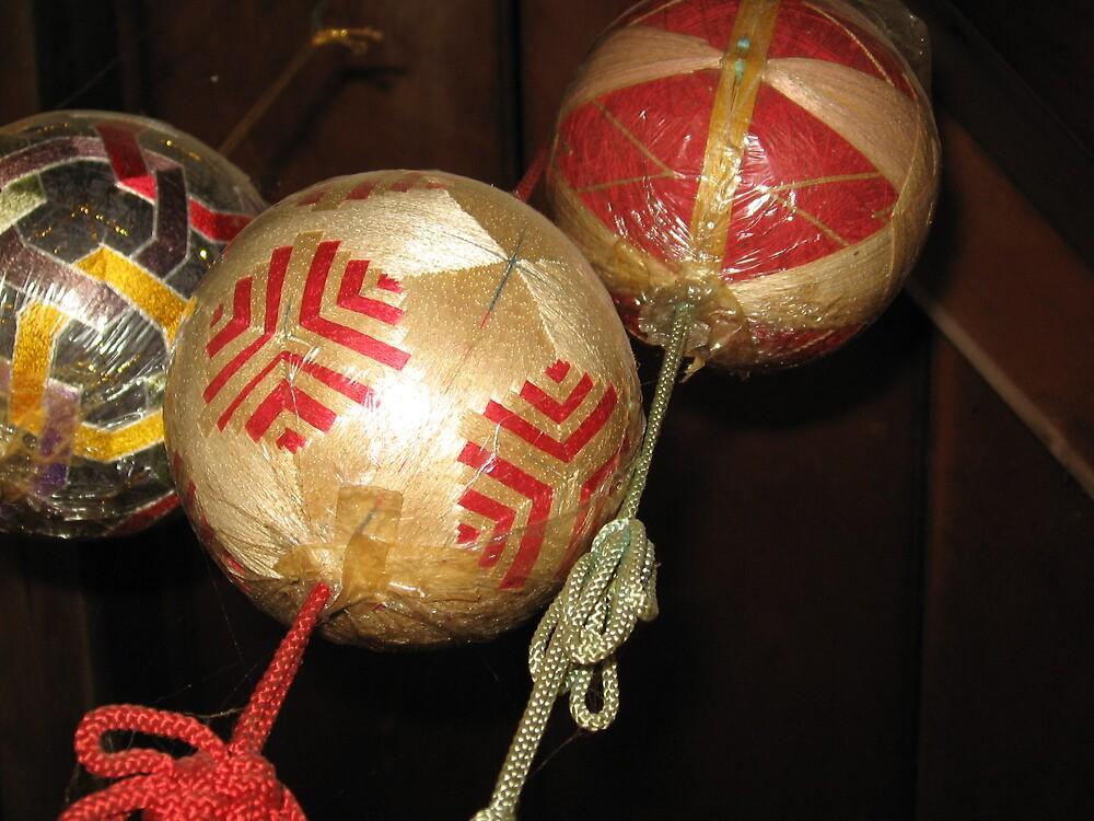Temari Balls 5 - Ishiteji temple Matsuyama Ehime  by Trishy