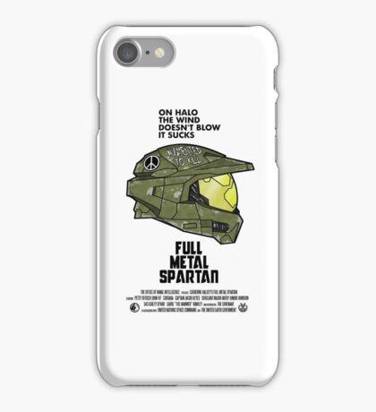 Full Metal Spartan iPhone Case/Skin