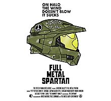 Full Metal Spartan Photographic Print