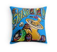 SAX A GOGO Throw Pillow
