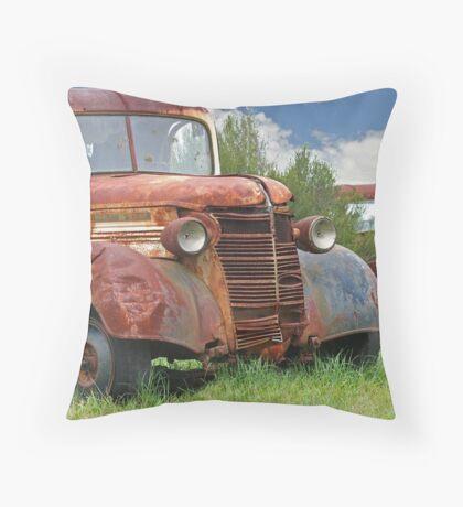 Rust In Piece x 2 Throw Pillow