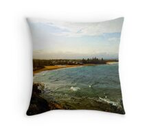 Caloundra Beach - Queensland - Australia Throw Pillow