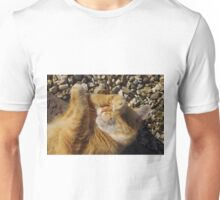 Hungover cat Unisex T-Shirt