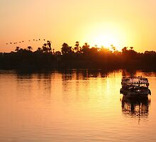 On the banks of the Nile  by areyarey