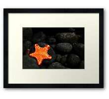Star of the Sea Framed Print