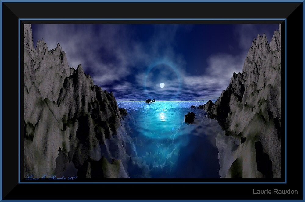 Moonlit Night by Laurie Rawdon