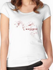 Ketchup - Since 1896 Women's Fitted Scoop T-Shirt