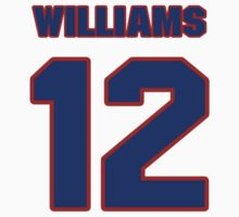 National Hockey player Butch Williams jersey 12 by imsport
